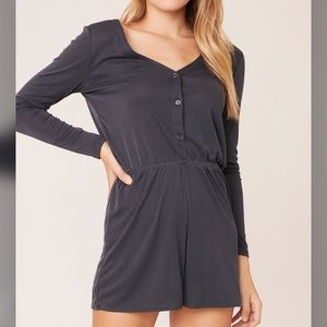 🆕 WORK FROM HOME Romper - NWT